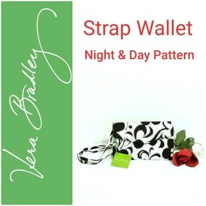 🆕️ Vera Bradley Night & Day Strap Wallet 14650